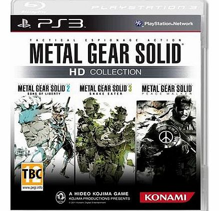 Metal Gear Solid HD Collection on PS3