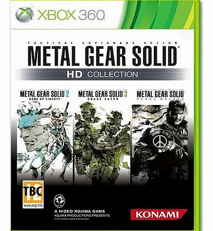 Metal Gear Solid HD Collection on Xbox 360