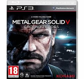 Metal Gear Solid V Ground Zeroes on PS3