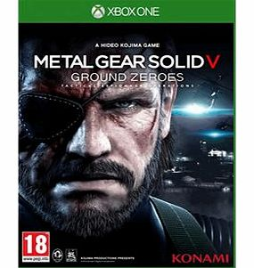 Metal Gear Solid V Ground Zeroes on Xbox One