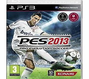 PES 2013 on PS3