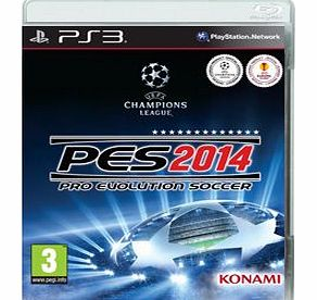 PES 2014 on PS3