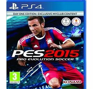 PES 2015 - Day One Edition Incls Exclusive