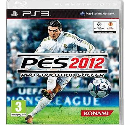 Pro Evolution Soccer 2012 (PES 2012) on PS3