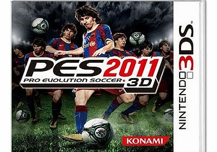 Pro Evolution Soccer 3D on Nintendo 3DS