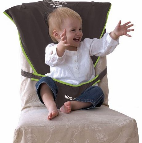 Seat Me Safe Travel Seat (Grey/ Green)