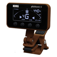 PitchHawk-U Ukulele Tuner Brown