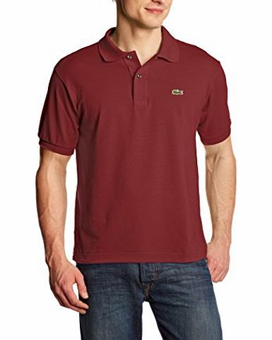 Mens Polo Shirt Red (WINE ULP) Small
