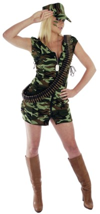Costume: Soldier Girl (Size X-Small)