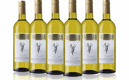Laithwaites Wine Visionario White Wine Italian blend 2013 75cl (Case of 6)