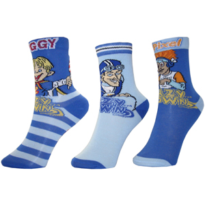 LazyTown 3 Pack Socks NEW