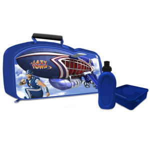 lazytown Sportacus Airship Lunch Bag with