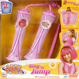 lazytown Stephanie Sing n Jump Microphone and