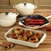 le creuset Teal 4-Piece Cookware Set
