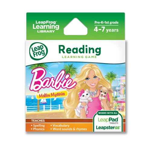Explorer Game: Barbie Malibu Mysteries (for LeapPad and LeapsterGS)