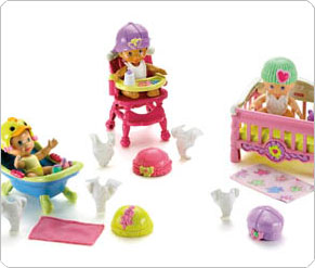 Fisher Price Snap and Style Dolls Babies Assortment