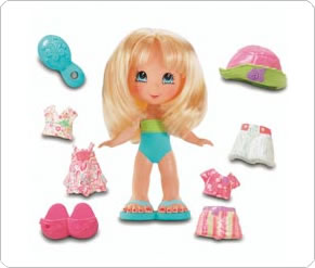 Fisher Price Snap n Style Dolls - Elena