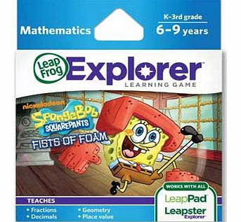 LeapPad Explorer Game: SpongeBob