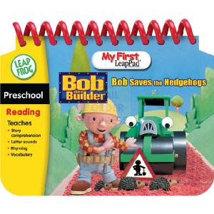 Leapfrog My First LeapPad Book Bob The Builder Saves The Hedgehogs