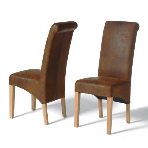 dining furniture leather dining chairs ruby rollback
