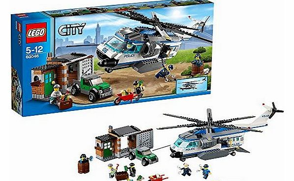 Lego City Police Helicopter Surveillance Industrifo
