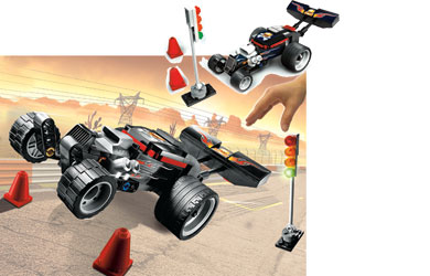 Racers - Power Racers - Extreme Wheelie 8164