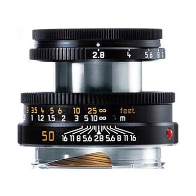 Elmar-M 50mm f/2.8 - Black Lens