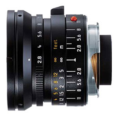 Elmarit-M 24mm f/2.8 Aspheric Lens - Black