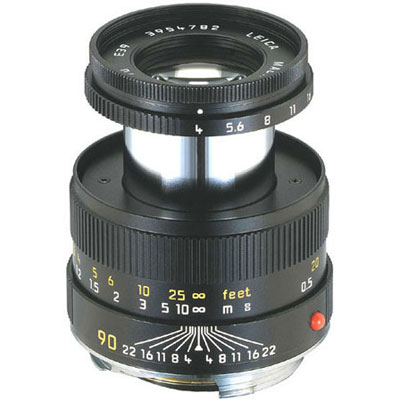 Macro-Elmar-M 90mm f/4 - Black Lens