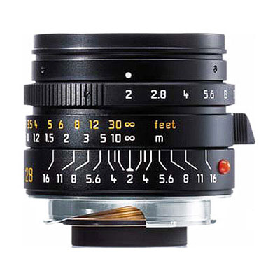 Summicron-M 35mm f/2 Aspheric Lens - Black