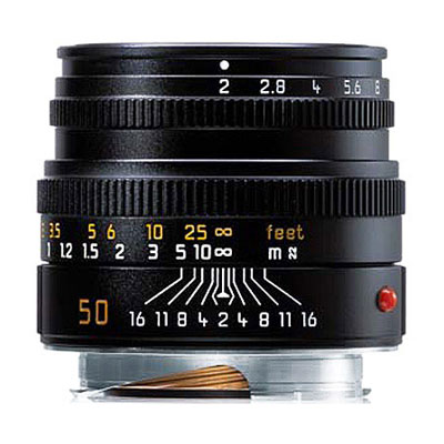 Summicron-M 50mm f/2 Black Lens