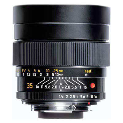 Summilux-M 35mm f/1.4 Aspheric Lens - Black