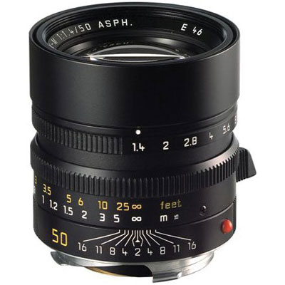 Summilux-M 50mm f/1.4 Aspheric Lens - Black