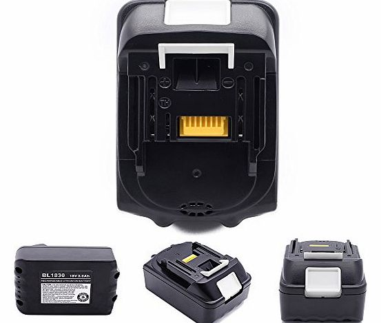 Power tools battery for Makita BL1830 BL1815 / LXT400 / 194205-3 18-Volt 3.0 AH Battery Lithium-Ion Battery repalcement makita battery
