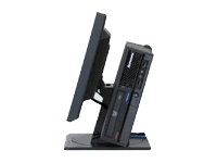 Vertical PC and Monitor Stand
