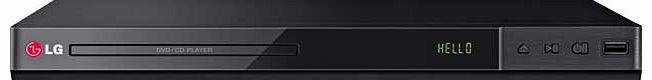 DP432 DVD Player with HD Upscaling