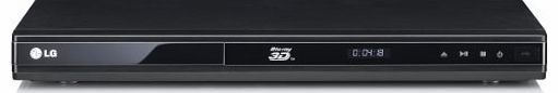 LG BD670 LGBD670 3D Capable Blu ray Disc™ Player with SmartTV and Wireless Connectivity - Black