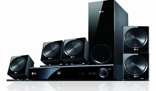 LG BDH9000 5.1ch 3D Blu-Ray Home Theater System, 850W