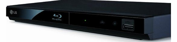 LG BP135 2D Slim Blu-ray Player - Black