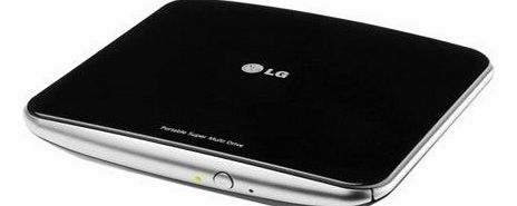 LG GP50NB40.AUAE10B - GP50NB40 8x Slim External DVD-RW Retail Kit (Black)