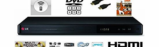 MULTIREGION LG DP542H UPDCALING TO NEAR 1080P HD DVD PLAYER . PLAYS DVDS IN ALL REGIONS 1 2 3 4 5 6 FROM AROUND THE WORLD - MULTI FORMAT (CD Audio, DivX playback, CD-R / CD-RW, DVD-R / DVD-RW, DVD+R /