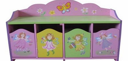 Liberty Fairy 4 Door Cabinet