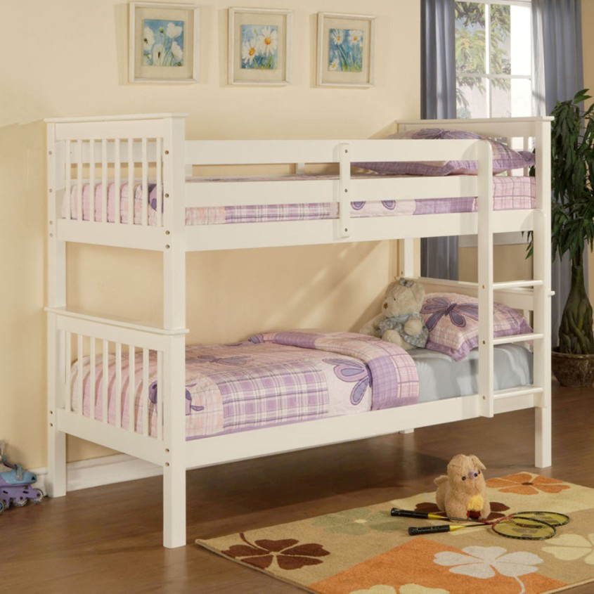 Limelight Beds Pavo Bunk Bed White Finish
