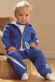 LITTLE BY LITTLE boys hooded sweat jacket and jog pants
