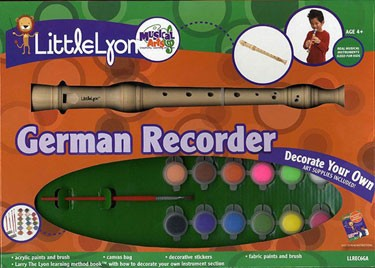 Little Lyon Paint Your Own Recorder