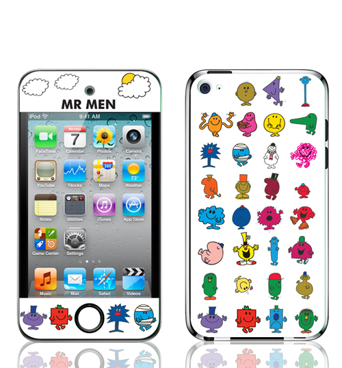 and Mr Men Characters Iphone 4 Skin