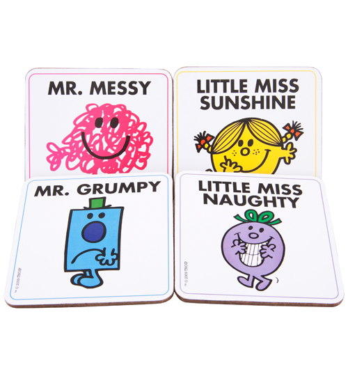 and Mr Men Coasters Set