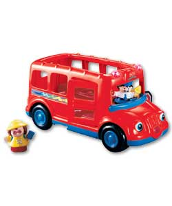 Little People Beeps the Red School Bus