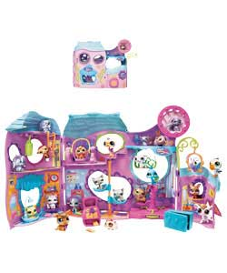 littlest pet shop Tail Waggin; Fitness Club