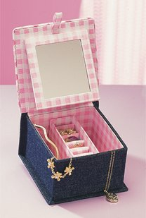 butterfly jewellery box